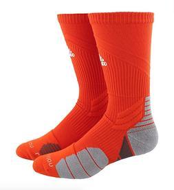 Adidas Traxion Menace Crew Socks Orange 5143386C Men's Size