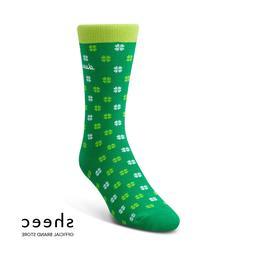 Sheec TrouSox - Lucky Clover  -Saint Patrick's Day Socks sha
