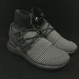 Adidas Tubular Doom PK Black Grey White Stripe Sock Oreo Mid
