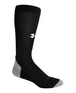 Under Armour Men's UA Lite Cushion Boot Socks Medium Black