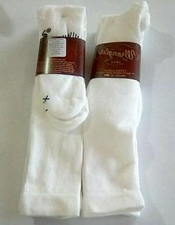 Wrangler Ultra-Dri OTC Western Boot Sock, XL, White, 4 pr $2