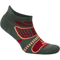 Balega Ultra Light No Show Running Socks - Aloe/Red