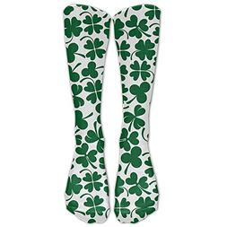 unisex cotton lucky clover shamrock compression sports