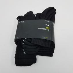 NIKE Unisex Dry Cushion Crew Training Socks , Black/White, M
