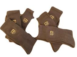 UPS Socks. 6 pairs crew lenght brand new size 11-13
