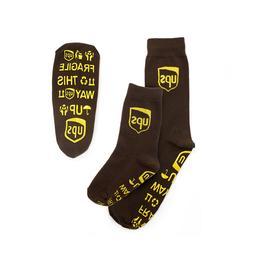 UPS UNITED PARCEL SERVICE MENS LADIES KIDS BROWN NO SLIP NON