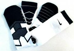 NIKE VAPOR ELITE FOOTBALL CREW SPEED SOCKS Navy & White Size