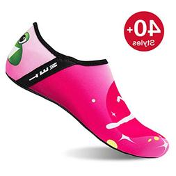 Womens and Mens Water Shoes Barefoot Quick-Dry Aqua Socks fo