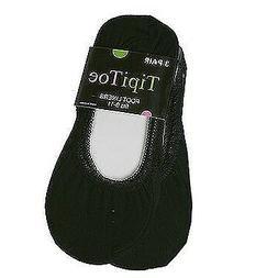Tipi Toe Women Black No Show Trendy Design Lightweight Soft