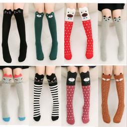 Women Cute 3D Socks Cartoon Animals Thigh Stockings Over Kne