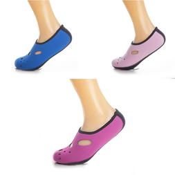 Women Men Water Shoes <font><b>Socks</b></font> Beach Slip O