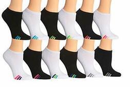 Tipi Toe Women's 12-Pack No Show Athletic Socks Sock Size 9-