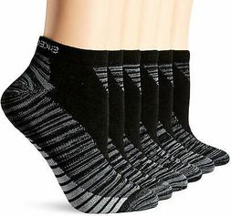 Skechers boys Boys 6 Pack Low Cut Socks Running Socks