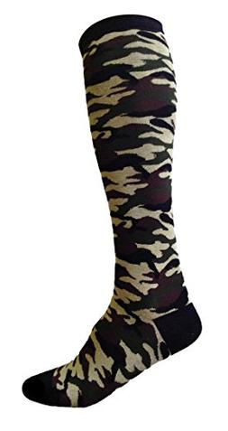 SoRock Women's Camouflage Knee Socks