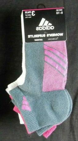 adidas Women's Cushioned Low Cut Socks  NWT