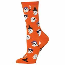 Hot Sox Women's Cute Ghost Socks