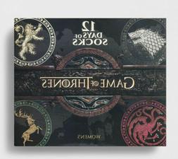 Women's Game of Thrones 12 Days of Socks Gift Set  Shoe Sz 4