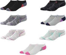adidas Women's Superlite Speed Mesh No Show Socks, 2 Pairs,