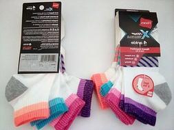 Hanes Women's X-Temp Sport Comfort Cool & Dry Ankle Sock, Si
