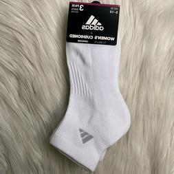 Adidas Women's Cushioned Ankle Socks 3pk