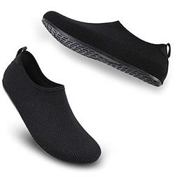 ALEADER Womens/Mens Beach Water Shoes Barefoot Aqua Socks fo