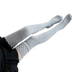 Jushye Hot Sale!!! Womens Thigh High Socks, Christmas Winter