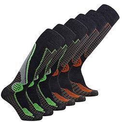 Pure Athlete High Performance Wool Ski Socks – Outdoor Woo