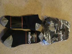 Carhartt Work Socks, Size Large 9-12, Lot of 6, 3 packs of 2