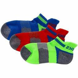 ASICS Youth Quick Lyte Cushion Low Cut 3-Pack Socks - Mens -