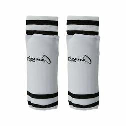 Champion Sports Youth Sock Style Striped Soccer Shinguards,