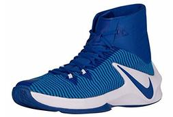 NIKE Men's Zoom Clear Out TB Shoes 844372 444 Game Royal Siz